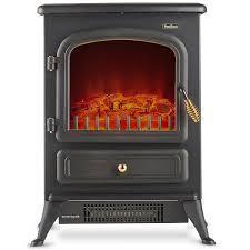 amazon com vonhaus electric fireplace stove heater portable free