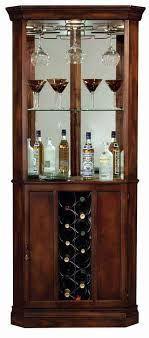 locking wine display cabinet howard miller piedmont 690 000 corner wine cabinet the clock depot
