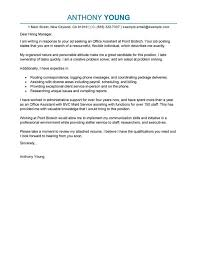 It Resume Cover Letter Free Sample Cover Letter For Resume Resume Template And