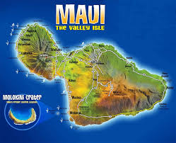 Hawaii On World Map Download Free Maps Of Maui Hawaii Car Rental Maui