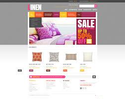 website design 40845 luxury bed linen custom website design