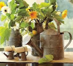 Tin Buckets For Centerpieces by 25 Best Watering Can Event Décor Images On Pinterest Flower