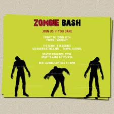 6 wonderful zombie party invitation wording srilaktv com