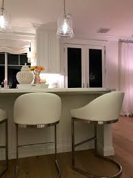 perfect barstools simple beauty for holiday entertaining