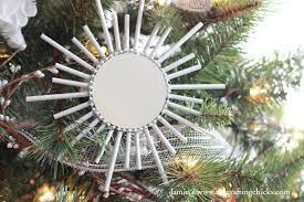 sunburst mirror ornaments the crafting