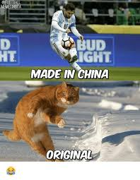 Made In China Meme - memesinsta ud ght made in china original soccer meme on me me