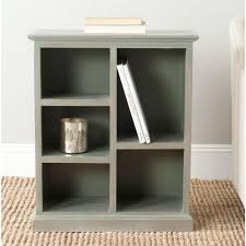 White Cubby Bookcase by Safavieh Maralah White Open Bookcase Amh6634b The Home Depot