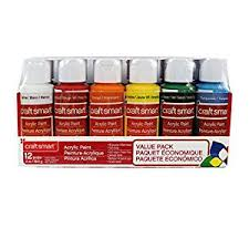 amazon com acrylic paint value pack by craft smart