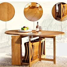 Folding Dining Table With Chair Storage Dining Table With Storage For Chairs Diy Flat Folding Dining Table