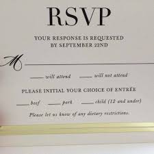 rsvp cards for wedding the hilarious typo that made this wedding rsvp card go viral