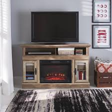 home theater console furniture better homes and gardens crossmill fireplace media console