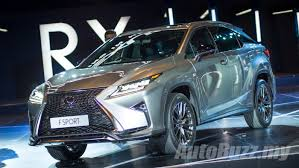 lexus brand launch fourth gen lexus rx launched in malaysia priced from rm389k to