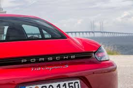 porsche red 2017 2017 porsche 718 cayman first drive review performance trumps