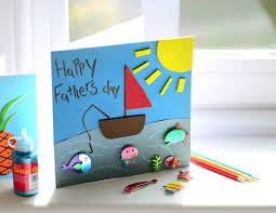 how to make a fishing card for s day hobbycraft