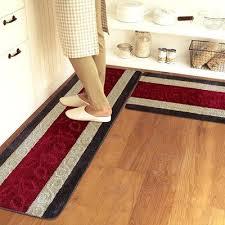 grand tapis de cuisine tapis de cuisine orange set de table bali bamboo 48x33cm ganse