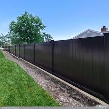 Backyard Fences Ideas by Best 25 Vinyl Privacy Fence Ideas On Pinterest White Fence