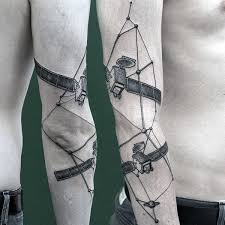 40 constellation tattoos for men star formation designs
