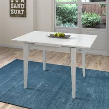 corliving dillon white wood extendable dining table dsh 210 t