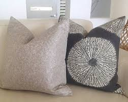 Grey Linen Cushions Linen Cushions Linen Pillow Covers White Charcoal Grey