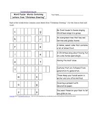 free printable christmas reading comprehension worksheets worksheets