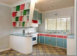 1950 kitchen furniture fabulous 1950 s kitchen with great suspended shelves painted in