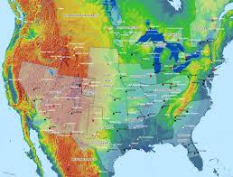 America Map Atlanta by Rifts North America Imcn