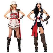 Assassins Creed Halloween Costumes Female Assassins Creed Costume Womens Cosplay Halloween