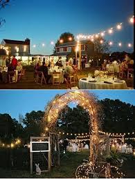 Backyard Wedding Lighting by 125 Best Romantic Garden Lighting Images On Pinterest Marriage