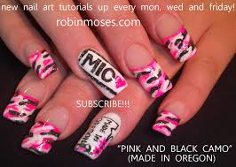 pink black and white nail designs choice image nail art designs