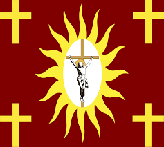 Ancient Roman Empire Flag Flag Of The Holy Catholic Alliance 1517 1848 By