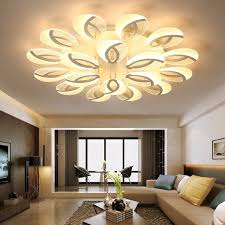 Lighting Dining Room Chandeliers Modern Led Ceiling Chandelier Lighting Dining Room Plafond Avize