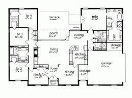5 bedroom house plan 5 bedroom floor plans 2 adhome