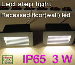 led step lights indoor step light led outdoor indoor pathway light recessed floor inground