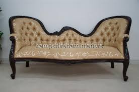 Double Chaise Lounge Sofa by Orient Victorian Style Double Ended Chaise Longue Sofa Hampshire