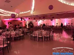 Pipe And Drape Rental Seattle Ceiling Drape Paper Lanterns Uplights And Full Room Of Pipe And
