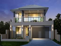 two storey house modern two storey house plans modern house plan
