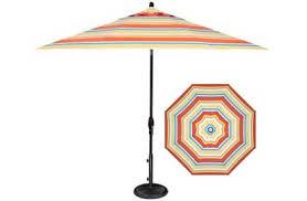 Striped Patio Umbrella Striped Umbrella Patio Home Design Ideas And Pictures