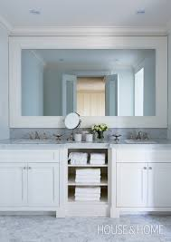 Bathroom Cabinets Built In The Question Of The Vanity View Along The Way