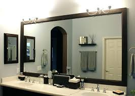 Oak Framed Bathroom Mirror Timber Framed Bathroom Mirrors Wood Wall Mirror Timber
