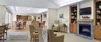 Home Design Kendal New Skilled Nursing Wings And Commons Accorded Gold Leed