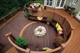 Decks With Benches Built In Built In Deck Bench Deck Transitional With Built In Bench Built In