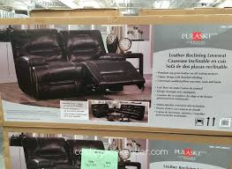 Leather Sofa And Loveseat Recliner by Sofas Center Costco Leather Sofa Galaxy Brown Top Grain Withi