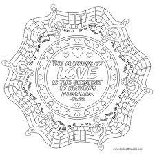 love mandala coloring pages exprimartdesign