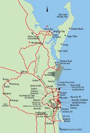 map of queensland fraser coast coast map queensland australia