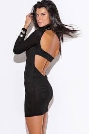 turmec long sleeve long black dress cheap