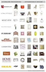 online home decor boutiques 10 online sources for affordable decor