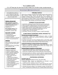 resume of financial analyst sample resume financial analyst senior financial analyst resume