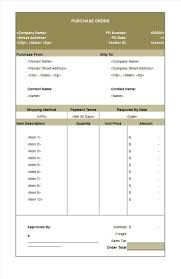 quotation format manpower supply 37 free purchase order templates in word u0026 excel