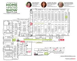 Jacksonville Home And Patio Show Floor Plan Exhibitor Rates U0026 Contract For The Jacksonville Home
