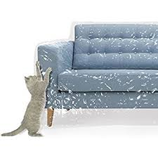 Plastic Sofa Slipcovers Amazon Com Plastic Couch Cover For Pets Cat Scratching